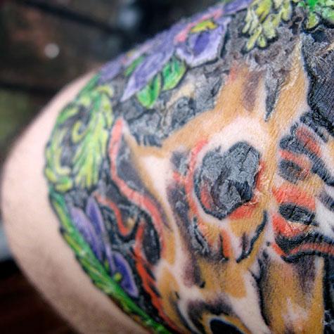Ink Nerd Peeling